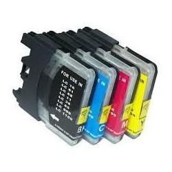 18ML Brother Compatibile LC61M LC980M LC1100M ALTA CAPACITA