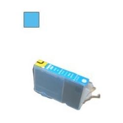 13ML Con chip compatible para canon serie cli-8 foto cyan