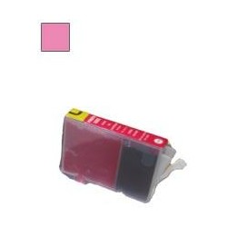 13ML Con chip compatible para canon serie cli-8 foto magenta