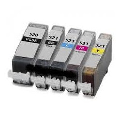 Amarilo 10ml con chip paraCanon Ip3600/IP4600/MP540/MP620...