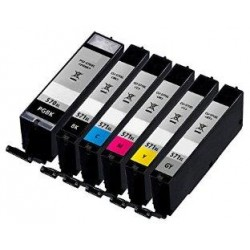 10.8ML con chip Canon MG5700,MG6800,MG7700CLI-571YXL
