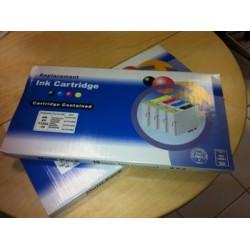 10 Cartucho Compatible T0711-712-713-714 (4x negro+6 color)
