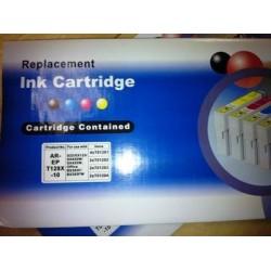 10 Cartucho Compatible T1281-1282-1283-1284 (4xBk+6 color)