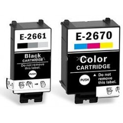 8.8ML Compatible para Epson WF-100W-0.25KC13T26614010