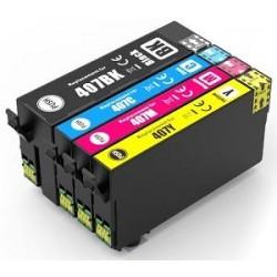 Negro compatible Epson WF-4745 Series-2.6KC13T07U140