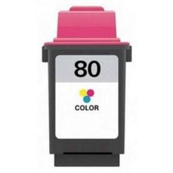 40ML REG. Lexmark 150c, 1000, 1100, 1020, 2030,color  N°80