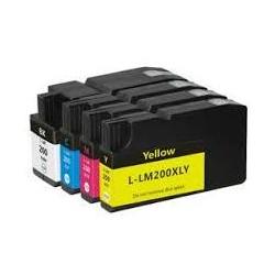 32ML Amarillo para Lexmark Pro4000C Pro5000T-1.6K14L0200