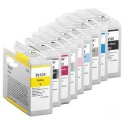 80ML Pigmento compatible SC-P800DES,P800SE,P800SP-Photo BK
