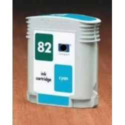 Cyan 69ML Compatible para HP 500 PLUS CC 800 PS 815MFP 82