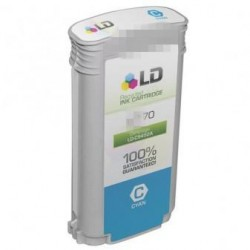 130ml Pigmento Cyan para HP Z2100,Z3200,Z5200,Z540070