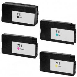 80ml Pigment Negro Com HP T120,T125,T130,T520,T525,T530H711