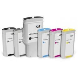 Ciano Compatible  Hp T1500,T2500,T920,T930-130Ml 727