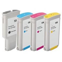 300ml Negro Pigment Com Hp Designjet T730 ,T830 728BK