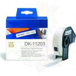 Blanco 17mmX87mm 300psc paraBrother P-Touch QL1000 1050 1060