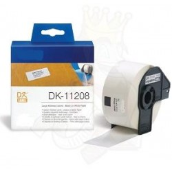 Blanco 38mmX90mm 400psc paraBrother P-Touch QL1000 1050 1060