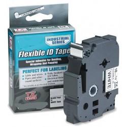Laminato Transpart 12mmX8m para Brother labelTZ-131/TZe-131