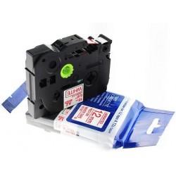 Laminado Negro-Transpar 9mmX8m Brother labeTZ-S121/TZe-S121