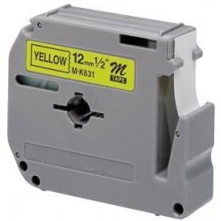 Laminato Black-Yellow 12mmX8m Brother labelMK-631BZ