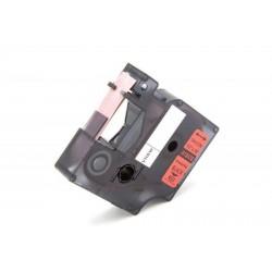 Rojo 12mmX5.5M Com Dymo Rhino 4200,5200,5000,6000S0718450