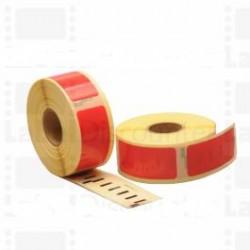 Rojo 54mmX25mm 500psc para DYMO Labelwriter 400-S0722520
