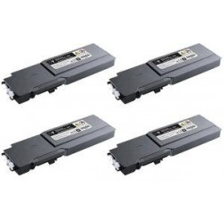 Cyan compatible para Dell C3760N,3760DN,3765DNF-9K593-11122