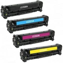 Negro toner universal HP CC530A/CE410X/CF380A/X-3.5K