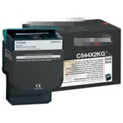 Negro com para Lexmark C 544N,544DN,544DTN,544DW,546DTN.6K