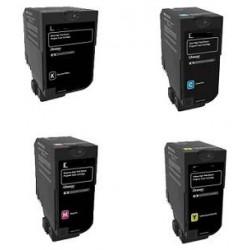Cyan Compatible Lexmark XC4100,XC4140,XC4150-13K24B6717