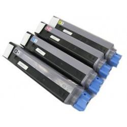 Cyan Compatible OKI C5550 C5800 C5900 -5K43324423