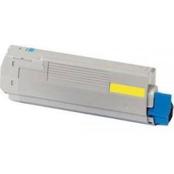 Amarillo compatible para Oki C822N, C822DN-7,3K44844613