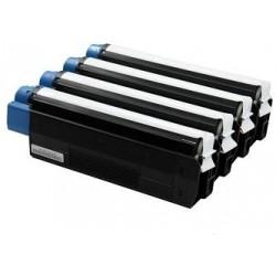 Amarillo compatible para  Oki ES6410-6K44315317