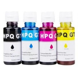 Amarillo Dye 90ML Compa HP 550,655,315,555,570,655,455,457